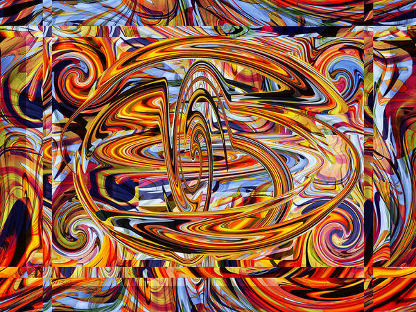 Digital Art - The New Infinity by rd Erickson