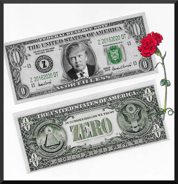 Digital Art - The New Trump Currency by Charles Robinson