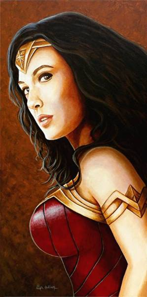 Wall Art - Painting - The New Wonder Woman by Al  Molina