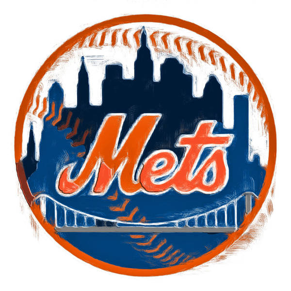 Wall Art - Painting - The New York Mets by Brian Reaves