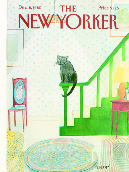 Wall Art - Photograph - The New Yorker Cover - December 8th, 1980 by Jean-Jacques Sempe
