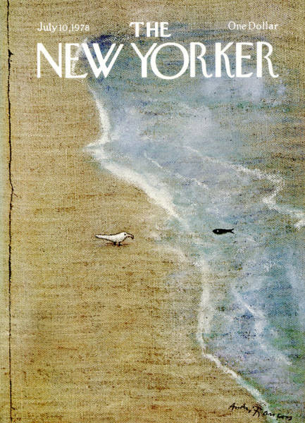 Water Painting - The New Yorker Cover - July 10th, 1978 by Andre Francois