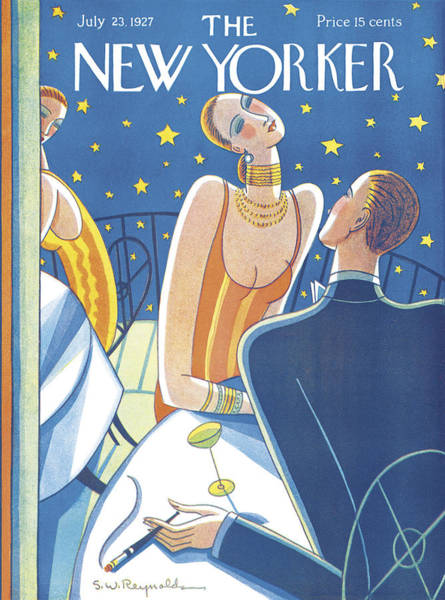 Photograph - The New Yorker Cover - July 23rd, 1927 by Stanley W Reynolds