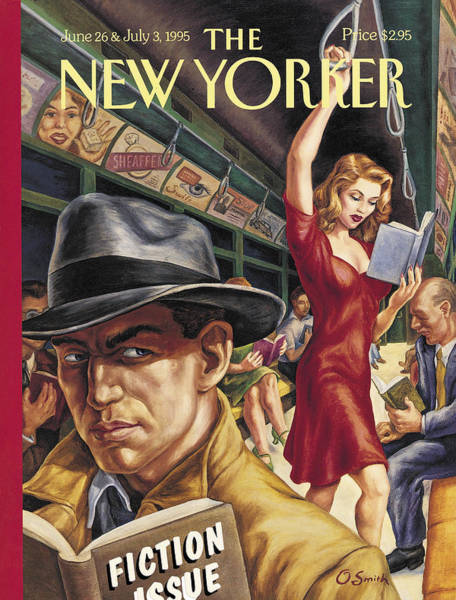 Wall Art - Painting - The New Yorker Cover - June 26th, 1995 by Conde Nast