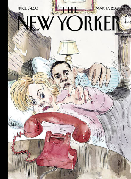 President Photograph - The New Yorker Cover - March 17th, 2008 by Barry Blitt