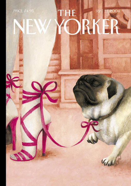 Pug Photograph - The New Yorker Cover - September 27th, 2004 by Ana Juan