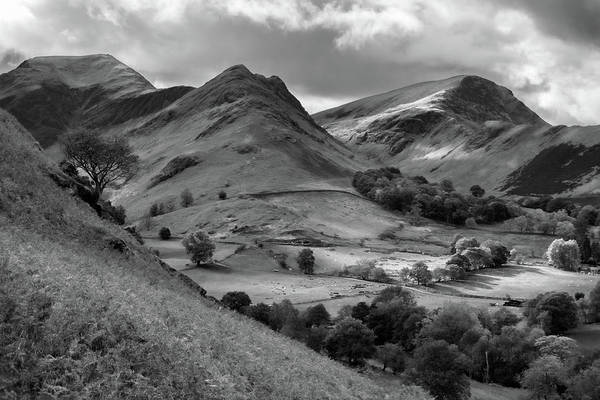 Photograph - The Newland Valley In Cumbria by Pete Hemington