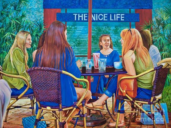 Painting - The Nice Life by AnnaJo Vahle