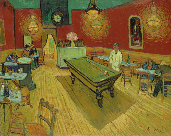 Painting - The Night Cafe 1888 by Vincent Van Gogh