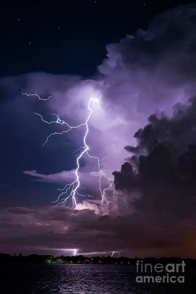 Electric Storm Photograph - The Night Dance by Quinn Sedam