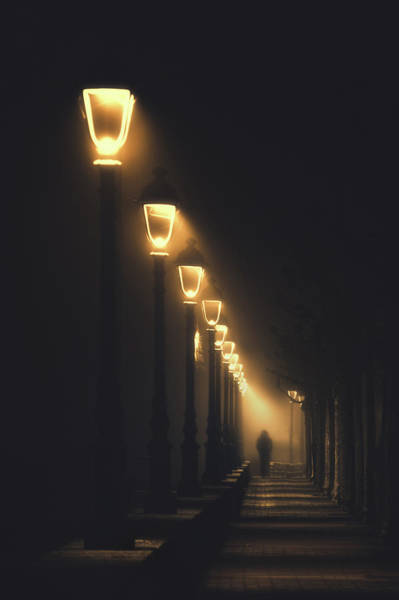 Wall Art - Photograph - The Night Of Jack The Ripper ...in Plentzia by Mikel Martinez de Osaba