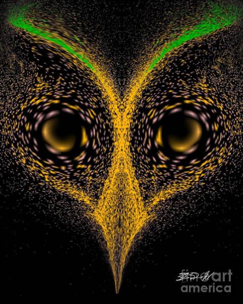 Digital Art - The Night Predator by Rob Mandell