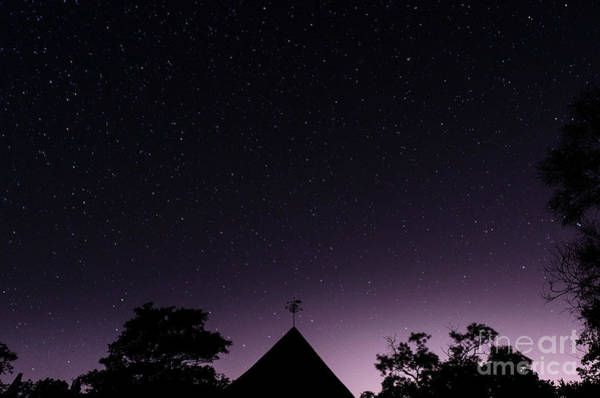 Photograph - The Night Sky, Great Dixter House And Gardens by Perry Rodriguez