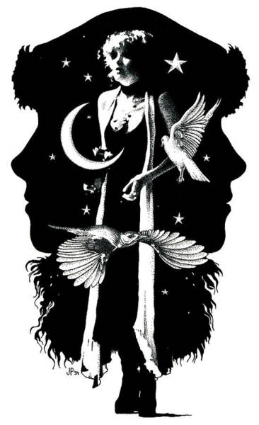 The Nightbird Art Print