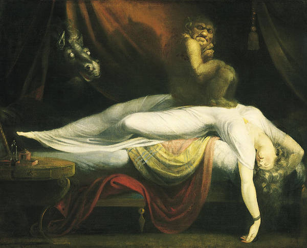 1781 Painting - The Nightmare by MotionAge Designs