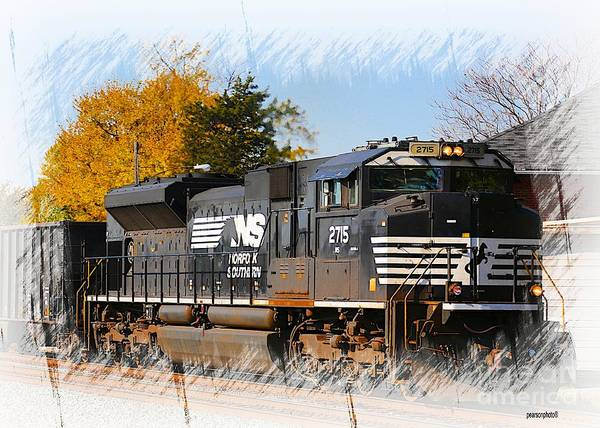 Norfolk Southern Wall Art - Photograph - The Norfolk Southern by Robert Pearson