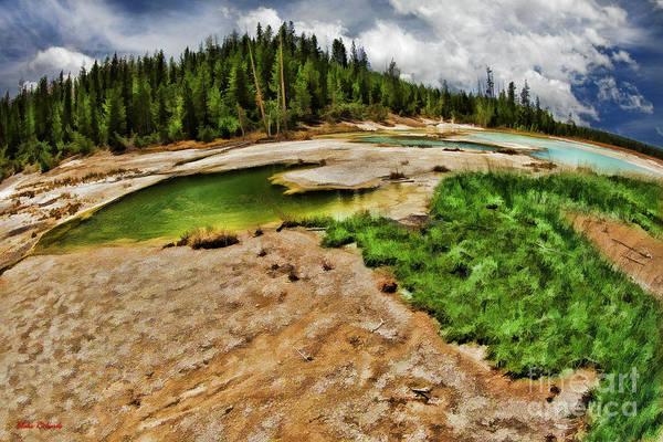 Photograph - The Norris Geyser Basin Yellowstone by Blake Richards