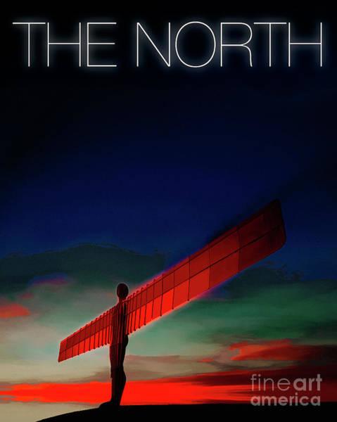 Digital Art - The North by Edmund Nagele