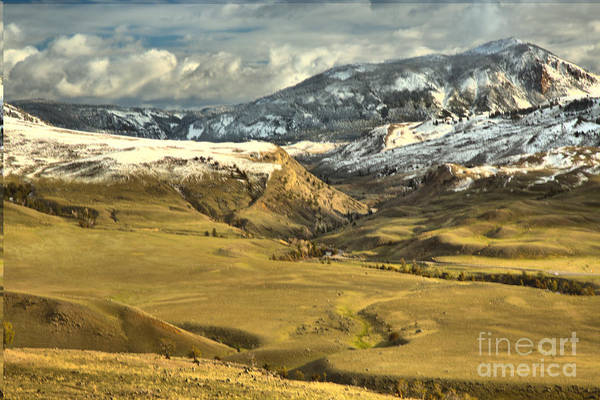 Photograph - The North Entrance Of Yellowstone by Adam Jewell