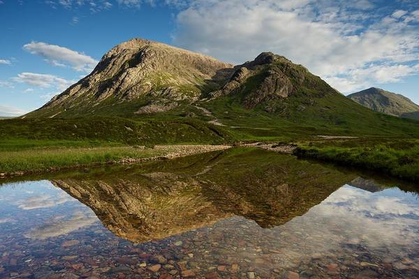 Photograph - The North Face Of Buachaille Etive Mor by Stephen Taylor