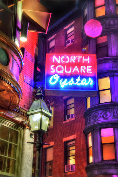 Photograph - The North Square - Boston by Joann Vitali