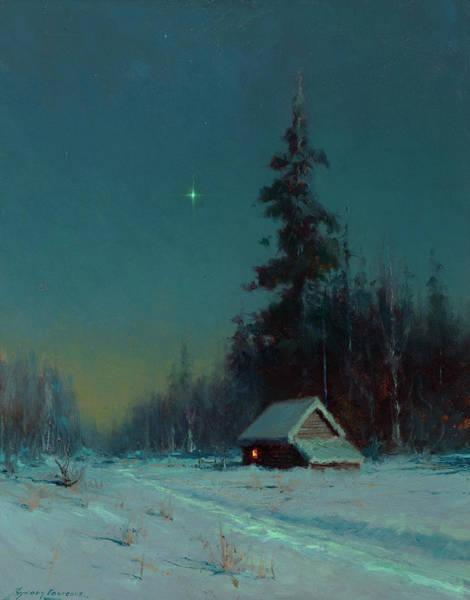 Wall Art - Painting - The North Star by Sydney Mortimer Laurence