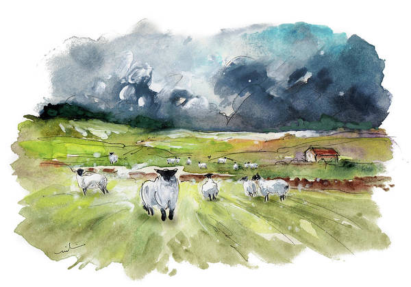 Painting - The North Yorkshire Moor 04 by Miki De Goodaboom