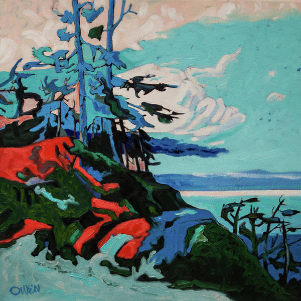 Painting - The Northeast Wind by Rob Owen