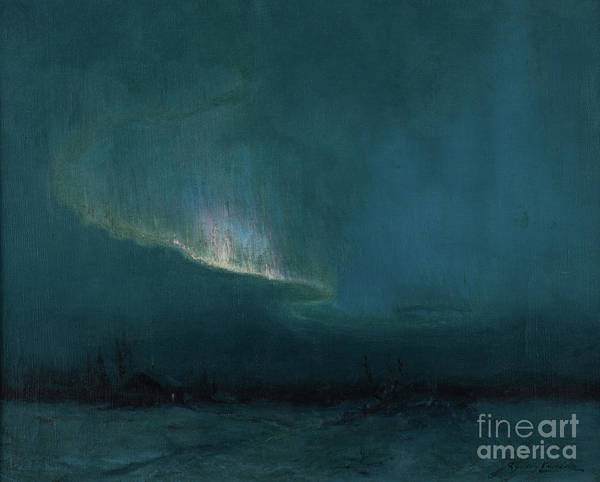 Aurora Borealis Painting - The Northern Lights, 1926 by Sydney Laurence