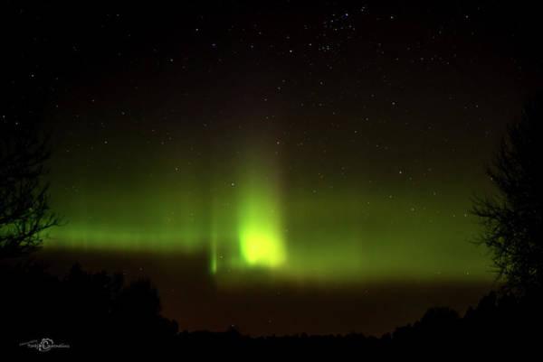 Photograph - The Northern Lights Peaks Aurora Borealis  by Torbjorn Swenelius