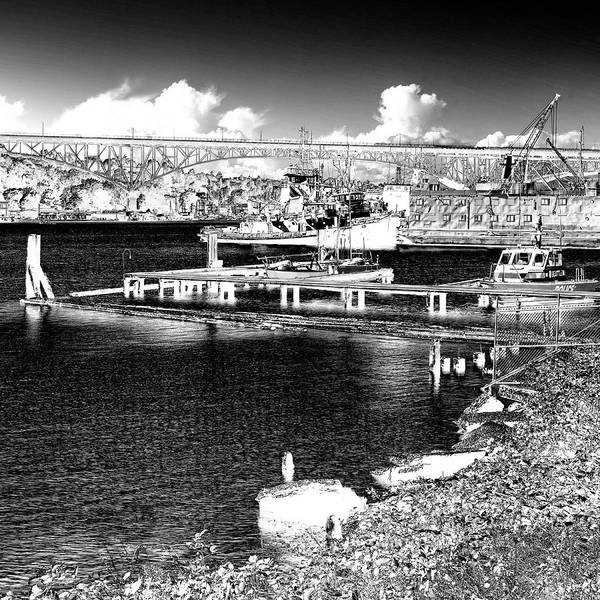 Photograph - The Northlake Shipyard On Lake Union by David Patterson