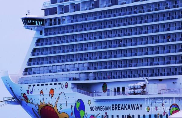 Wall Art - Photograph - The Norwegian Breakaway In Bermuda by Poet's Eye