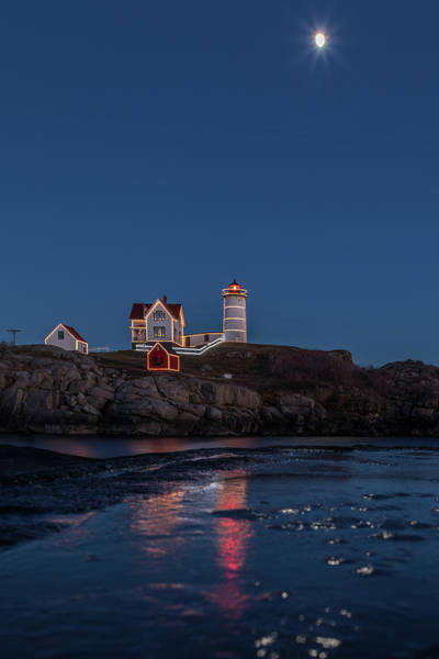 Photograph - The Nubble Waiting For Snow by Colin Chase