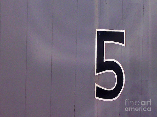 Wall Art - Photograph - The Number 5 by Elizabeth Hoskinson