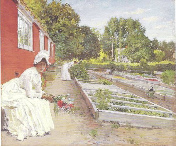 Painting - The Nursery by Reynold Jay