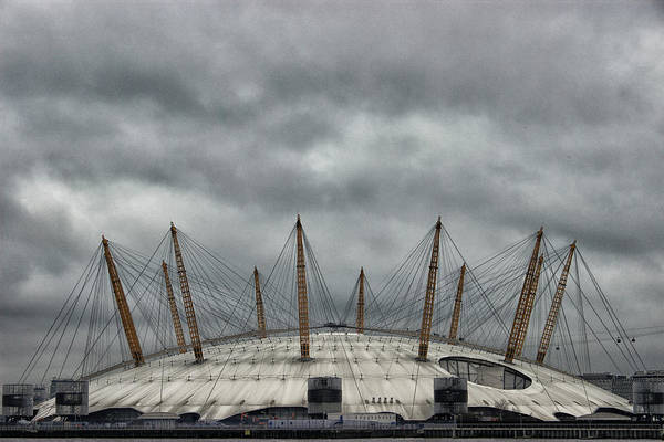 North London Wall Art - Photograph - The O2 Arena by Martin Newman
