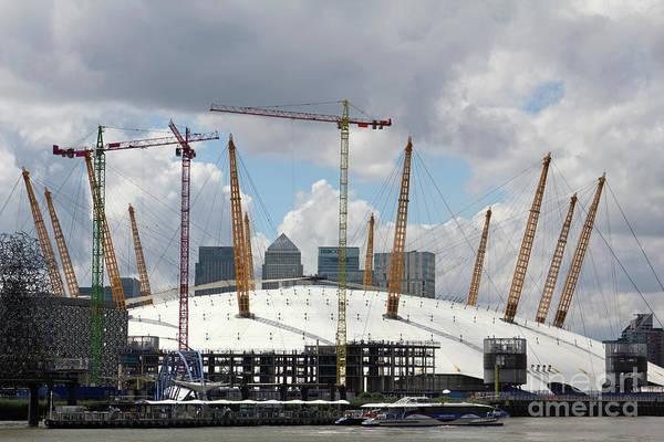 Photograph - The O2 Dome Greenwich London  by Julia Gavin