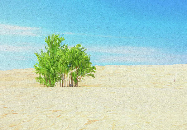 Wall Art - Painting - The Oasis by Dan Sproul