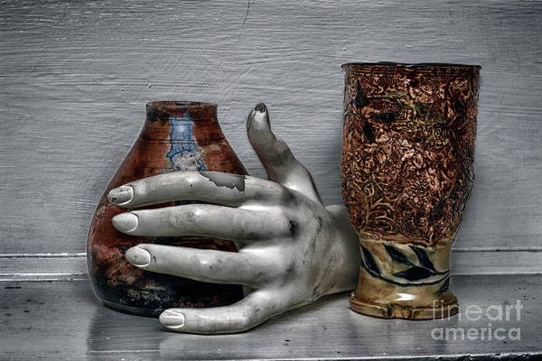 Wall Art - Photograph - The Objects Of The Hand  by Steven Digman