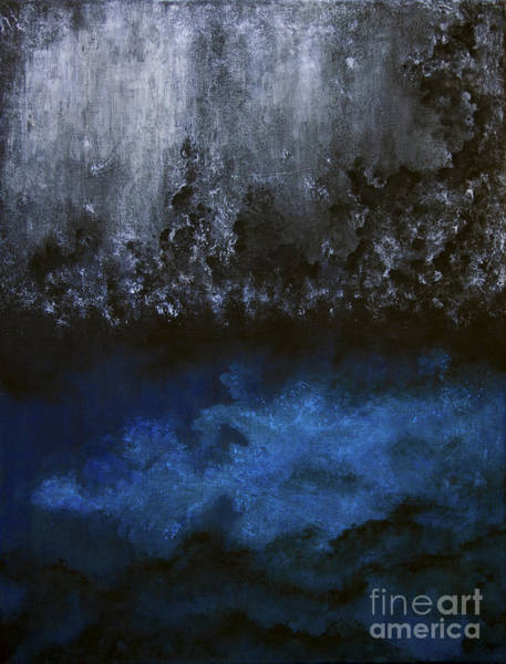Painting - The Ocean Beneath by Tim Musick