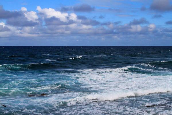 Photograph - The Ocean Blue by Bonnie Follett