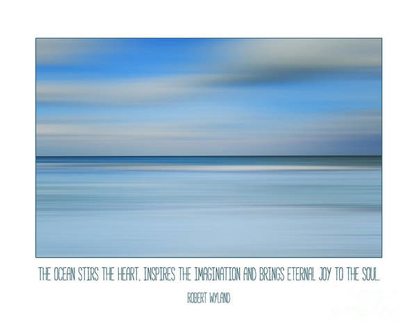 Wall Art - Photograph - The Ocean By Robert Wyland by L Bee