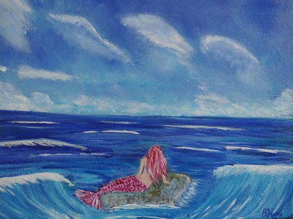 Painting - The Ocean Is My Home by Bernd Hau