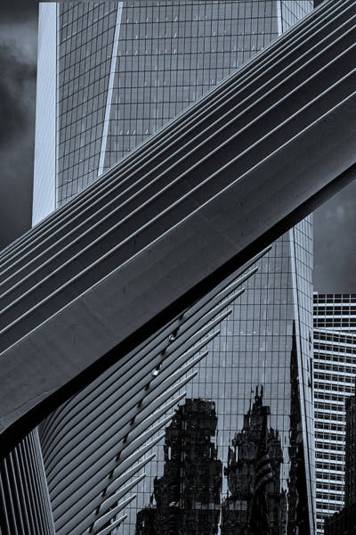 Photograph - The Oculus And One World Trade by Chris Lord