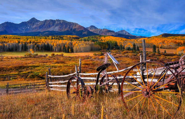 Wall Art - Photograph - The Ol' Ranch by David Ross