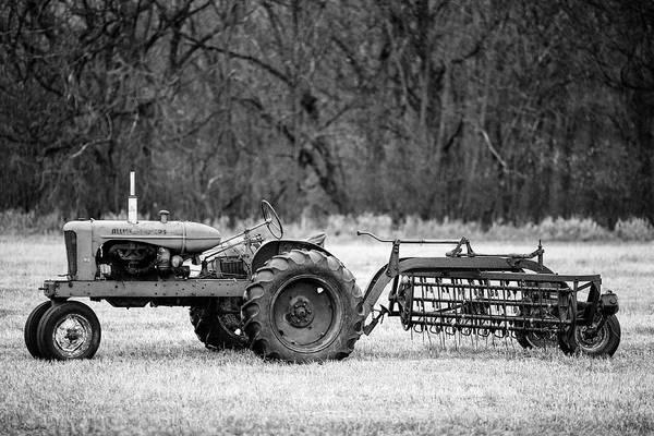 Hay Rake Photograph - The Ol' Wd by Todd Klassy