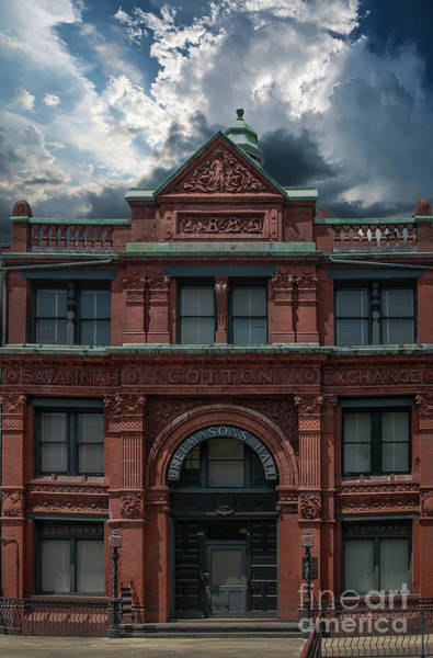 Photograph - The Old 1886 Cotton Exchange Building by Dale Powell
