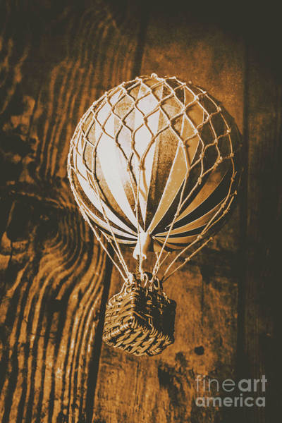 Air Balloon Wall Art - Photograph - The Old Airship by Jorgo Photography - Wall Art Gallery