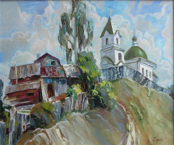 Ignatenko Painting - The Old And New by Sergey Ignatenko