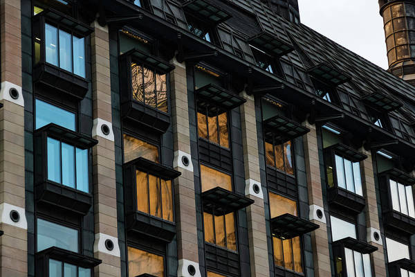 Photograph - The Old And The New - London Big Ben Reflected In A Modern Building by Georgia Mizuleva